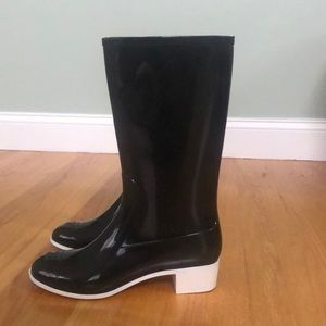 CHANEL Never Worn Chanel Rain Boots